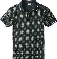 Fred Perry Polo-Shirt marineblau M4205/608