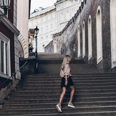 Different point of view in #Prague with @mikutas in #HOGAN Maxi #H222 #sneakers #HoganJourney #Hogansneakers  Every journey starts with one step…share your @hoganbrand experiences