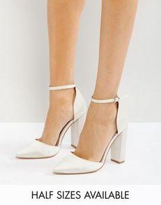 Туфли на высоком каблуке с заостренным носком ASOS PENALTY Bridal