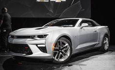 Revealed: The 2016 Chevrolet Camaro SS Convertible - PopularMechanics.com
