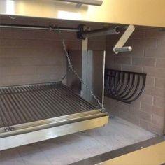 Dac-design, Mueble Frente Para Parrilla - $ 750,00 Outdoor Barbeque, Outdoor Oven, Barbecue Grill, Outdoor Cooking, Parrilla Interior, Asado Grill, Four A Pizza, Barn Kitchen, Smoke Grill
