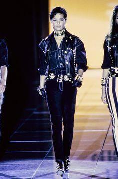 Versace Fall 1992 Ready-to-Wear Fashion Show - Nadège du Bospertus