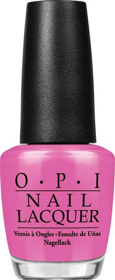 OPI Suzi Has a Swede Tooth Nail Lacquer | That's why I always have this strawberry candy pink on hand! | Creme