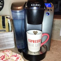 """I'm gonna espresso my love to the coffee that will be filling this cute mug! Happy Thursday!"""