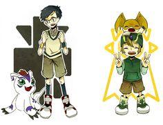 Digimon Adventure -Gomamon, Joe: Crest of Reliability!!  Patamon,  T.K.: Crest of Hope! ❤