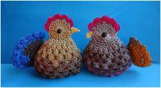 Mesmerizing Crochet an Amigurumi Rabbit Ideas. Lovely Crochet an Amigurumi Rabbit Ideas. Easter Crochet Patterns, Crochet Birds, Crochet Amigurumi Free Patterns, Crochet Dolls, Crochet Flowers, Crochet Home, Easy Crochet, Chicken Pattern, Crochet Chicken