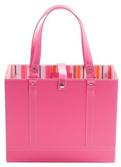 Pink File Tote to buy