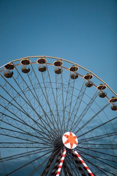Ferris Wheel in Honfleur, France.