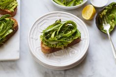 It's true, my love for toast is never-ending. Especially in the Spring and Summer when I want to cook simply and easily and all I really need for lunch is a few well made toasts. Lately, I've been making this twist on an avocado toast with a cilantro-tahini dressing and a shaved asparagus salad. ...
