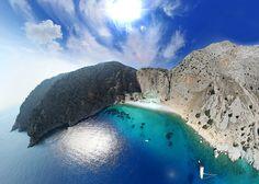 Symi island, Agios georgios beach- Greek Islands by Greece Virtual Beautiful Islands, Beautiful Places, Amazing Places, Amazing Photos, Places To Travel, Places To See, Greece Art, Enchanted Island, Island Pictures