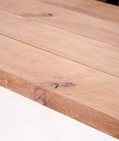 Wooden table top #oak #wood