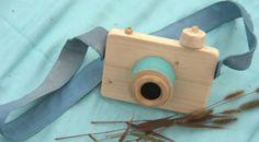 houten speelgoed fototoestel