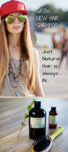 Encourage your hair to grow healthy without any harmful chemicals...