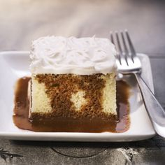 """Abuelita Tres Leches is a chocolatey version of the classic """"three milk"""" cake. This one is worth the extra effort and is a perfect choice for any festive gathering or special family event."""