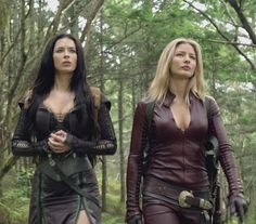"Kahlan Amnell and Cara from ""Legend of the Seeker"" (2008) I still miss this show. It was fun. http://hubpages.com/entertainment/Legend-of-the-Seeker-The-Sword-Of-Truth"
