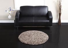 Premier Circular - Mocha:-  This range of handtufted acrylic rugs are a brand new addition to our collection.  Price	Form £40.00