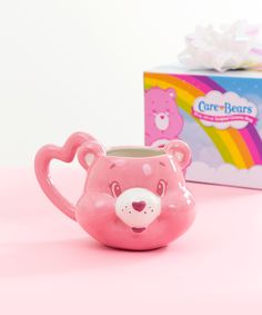 A Care Bear mug you'll be cheering for every morning. 33 Ridiculously Cute Products That Will Melt Your Heart A Care Bear mug you'll be cheering for every morning. 33 Ridiculously Cute Products That Will Melt Your Heart Cute Cups, Cute Room Decor, Cute Kitchen, Cool Mugs, Care Bears, Funny Mugs, Clay Crafts, Clay Art, Coffee Cups