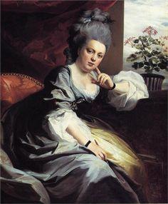 Mrs.Clark Gayton - John Singleton Copley - 1779