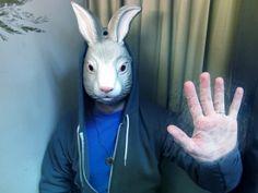 Dan'l (Darko) Picks: Bunny Mask | Flickr - Photo Sharing! by Bunnytears