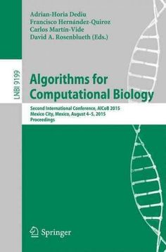 Algorithms for Computational Biology: Second International Conference Alcob 2015 Mexico City, Mexico August 4-5 2...