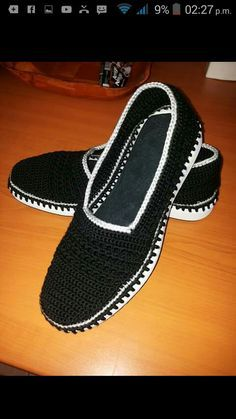 Crochet Shoes With Flip Flop Soles - Free Moccasin Pattern ...