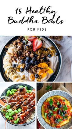 15 Healthy Buddha Bowls Even Kids Will Love #purewow #cooking #vegetable #healthy #recipe #family