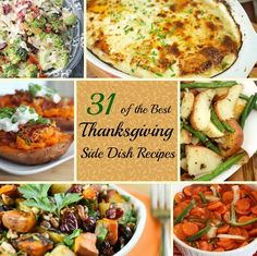 From the main meal to dessert - here are Best Thanksgiving Side Dish Recipes to help make your Thanksgiving the most delicious it can be!