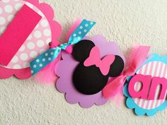 Minnie Mouse BOWtique Birthday Party High by sweetheartpartyshop