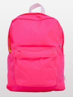 Nylon Cordura® School Bag | Shop American Apparel neon