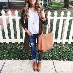 Casual Winter Outfits Ideas With Long Cardigans 41 #casualwinteroutfit