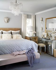 Comfortable Bedroom Decor Ideas Blue => http://smsmls.com/26918/bedroom-decor-ideas-blue