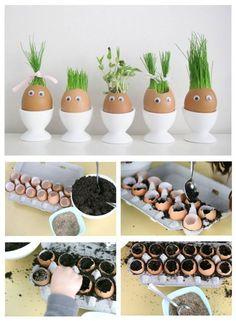 Eine schöne Idee für den Frühling Sehr leicht zu machen