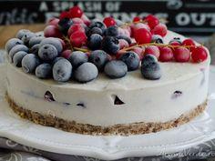Raw Vegan Desserts, Vegan Menu, Tasty, Yummy Food, Recipe Images, Something Sweet, Cheesecake, Deserts, Food And Drink