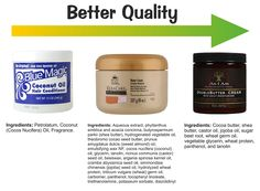 Fewer Ingredients Vs Quality Ingredients In Hair Products - http://www.blackhairinformation.com/growth/moisturizing/fewer-ingredients-vs-quality-ingredients-hair-products/