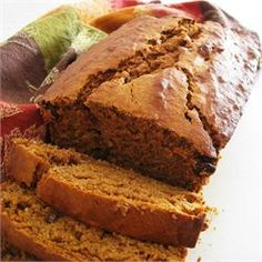 Banana Pumpkin Bread - just made this and replaced the flour with 2 cups whole wheat flour and 3/4 cup oats. Oh and I used melted butter instead of canola oil. I might use less sugar or brown sugar instead of white next time...