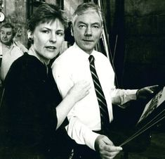 Mary O'Sullivan with Gay Byrne in 1985 Important People, Good People, Night Show, The Late Late Show, Learn To Swim, Person Of Interest, Say Anything, Great Stories, Great Friends