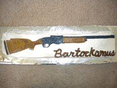 Gun / Rifle cake
