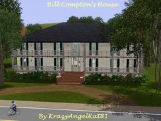 BillComptonHouse - KrazyAngelKat81's Sims 3 Adventure