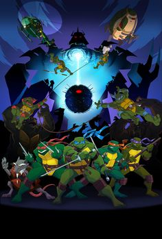 Turtles Forever by =E-Mann on deviantART