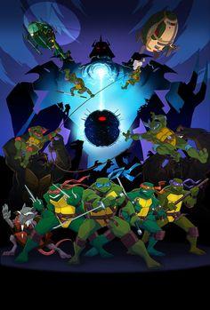 Turtles Forever Poster by E-Mann on deviantART