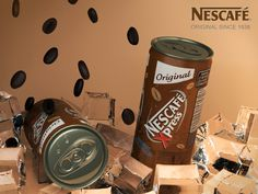 Nescafe xpress poster, rendered with mental ray on 3dmax 2013..