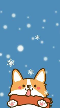 Another cute corgi - Picture World Corgi Wallpaper Iphone, Dog Wallpaper, Kawaii Wallpaper, Animal Wallpaper, Seagrass Wallpaper, Paintable Wallpaper, Colorful Wallpaper, Fabric Wallpaper, Chibi Wallpaper