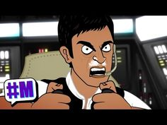 Cartoon Portrays What Star Wars Would've Been Like With Pacino as Han Solo | Entertainment Buddha