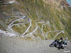 The Stelvio Pass, the biggest ZigZag in Europe