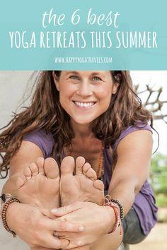best yoga retreats this summer