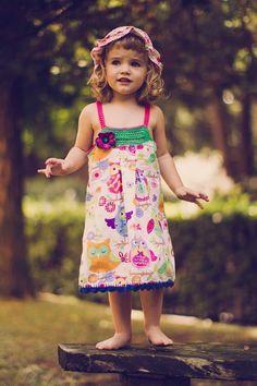 Vestido niña de algodón y crochet https://www.facebook.com/photo.php?fbid=594751873897167&set=pb.454136331292056.-2207520000.1379329845.&type=3&theater