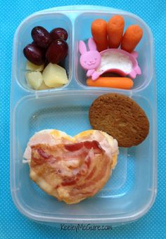 School Lunch Made Easy: @MOMables Monday - I Love Bacon!