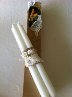 easter candle Easter Candle, Easter 2014, Palm Sunday, Easter Ideas, Easter Eggs, Crochet Baby, Candles, Crafts, Handmade