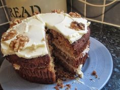 We love the Frugal Queens' Gluten Free Maple Syrup and Walnut cake! Check out the recipe here