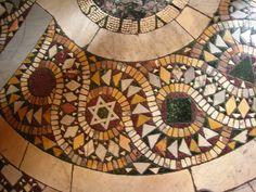 Vatican Museum Cosmati floor, via Flickr.